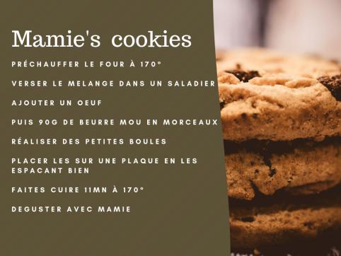 mamie's cookie